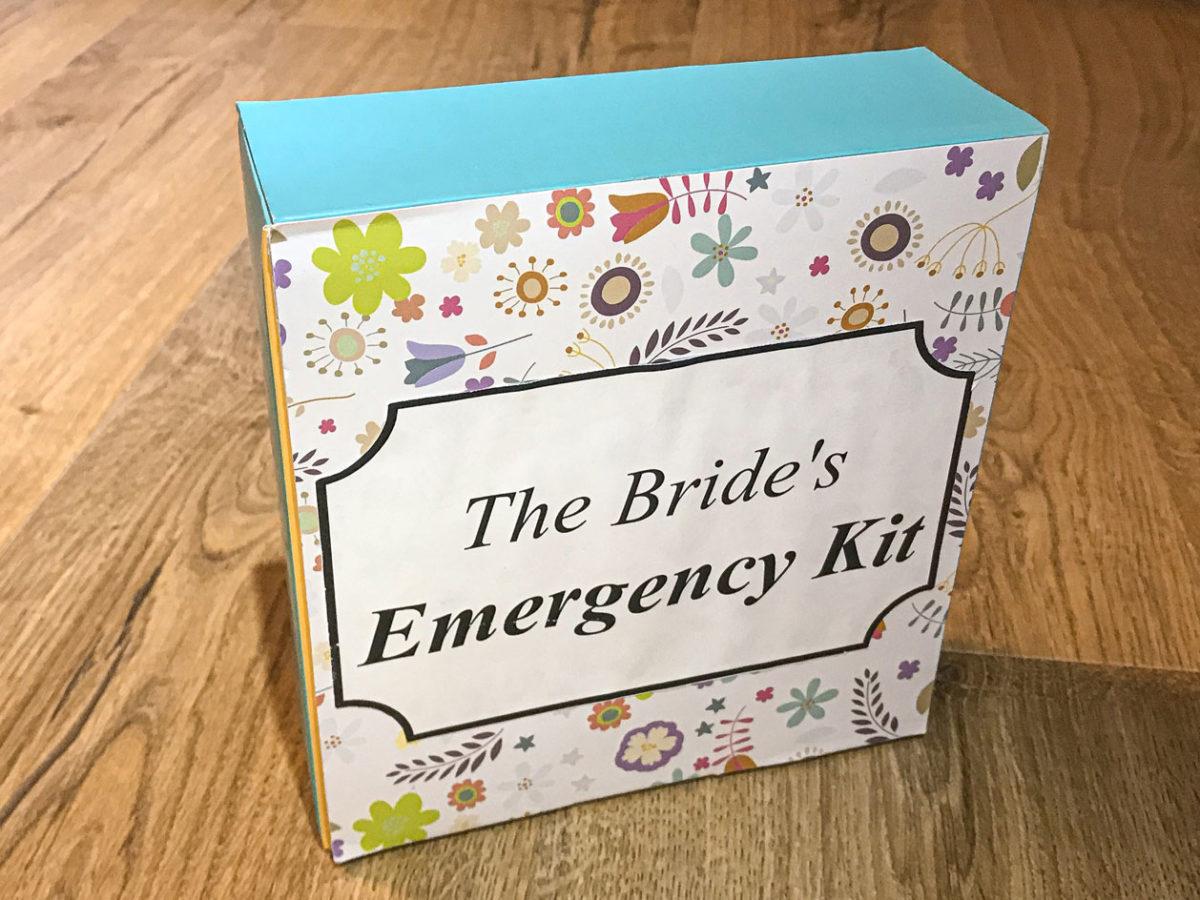 כל מה שמלווה חייבת - The bride emergency kit ביום החתונה