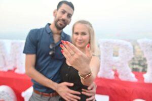 צילום הצעת נישואין בטיילת לואי חיפה